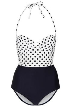 6839c4ae71ffb Dotted    Topshop Modest Swimsuits