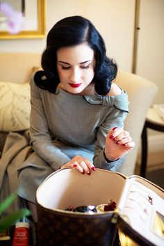 80fa2c91b097 Beauty Tell-all  A Visit With Dita Von Teese