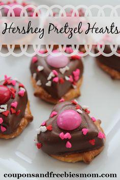 Today's Daily Dish Recipe is Hershey Pretzel Hearts.