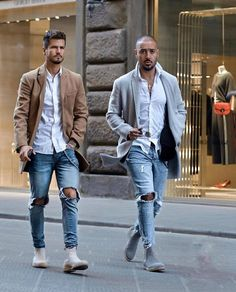 Fashion, only fashion, urban fashion, black turtleneck outfit, blazer with Grey Chelsea Boots Men, Chelsea Boots Outfit, Suede Chelsea Boots, Stylish Men, Men Casual, Casual Styles, Outfit Styles, Casual Wear, Grey Boots Outfit