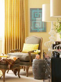 Chambre à coucher lumineuse et ensoleillée ~ Décor de Maison / Décoration Chambre