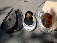 GENUINE GMC CLEARANCE LIGHTS CHROME Chevy GMC Ford..1939-1958: OEM VINTAGE NOS…