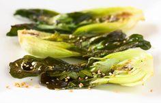 Pak - choi v sezamové kruste Pak Choi, Beta Carotene, One Pan Meals, Raw Vegan Recipes, Plant Based Eating, Asian Cooking, Eat Right, Asian Recipes, Cabbage