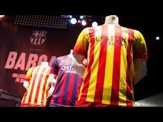 FOOTBALL -  FC Barcelona - La segona samarreta del Barça 2013/14, a l'FCBotiga - http://lefootball.fr/fc-barcelona-la-segona-samarreta-del-barca-201314-a-lfcbotiga-2/