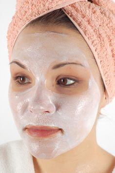 Natural facial mask recipes.