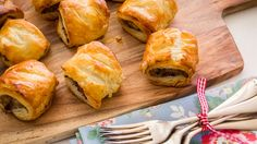 Homemade Sausage Rolls - these Aussie favourites will have you coming back for more. And more and more and more...