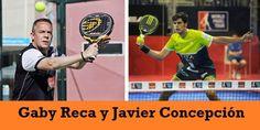 Javier Concepción y Gaby Reca #Pádel #PádelProfesional #PádelCompetición #PádelMasculino #WorldPádelTour.