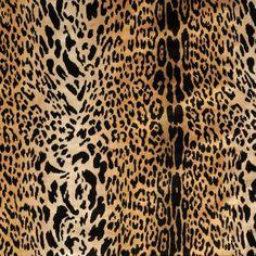 Scalamandre leopardo silk velvet