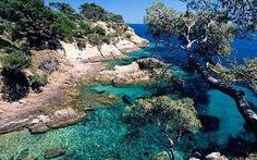 Rare, undeveloped part of French Riviera