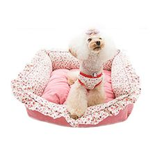 Pet Dog Cat Floral Pastoral Style Beds Mats Pink ** See this great product.(This is an Amazon affiliate link and I receive a commission for the sales)