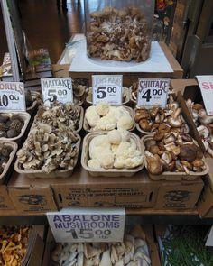 Assorted mushrooms. #Mushrooms