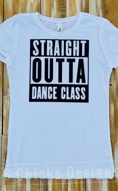 Excited to share this item from my shop: Straight Outta Dance kids shirt girls Dance Mom Shirts, Shirts For Girls, Kids Shirts, Team Shirts, Cute Shirts, Diy Dance Gifts, Best Friend Shirts, Dance Quotes, Girl Dancing