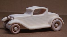 Handcrafted Wooden 1932 Ford Roadster 301 by mygrandpaswoodentoys, Wooden Toy Cars, Wooden Truck, Wood Toys, Handmade Wooden, Handmade Toys, 1932 Ford Roadster, Making Wooden Toys, Toy Trucks, Fine Woodworking