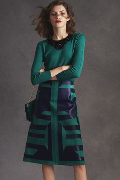 To Stitchfix Stylist: I love colors/pattern/ cut of this dress. Don't love the detail at the neckline but can be overlooked since dress is so unique overall.