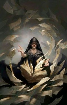 Female mage of many spells