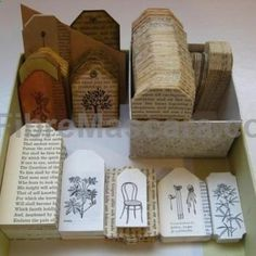 Remove dust from your old , damaged books and make something new and useful! Check out this creative book crafts! You can make jewelry box , la... #lingerie #gifts #forher #her #valentines #valentinesday #ladies #female #outfit #morning #ideas #dressingup #erotic #valentinegift Old Book Crafts, Book Page Crafts, Diy Old Books, Book Page Art, Craft Books, Old Book Pages, Old Book Art, Crafty Craft, Altered Books