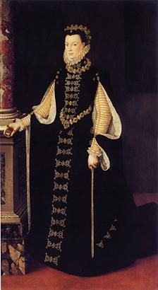 Isabel de Valois, de Sofonisba Anguissola (1565)