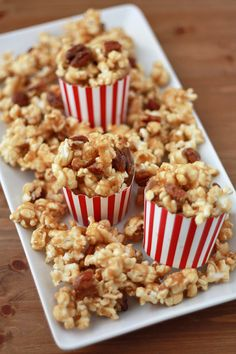 Gluten Free Vegan Maple Caramel Corn (NO corn syrup!) - One Lovely Life