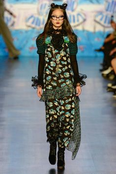 Anna Sui Fall 2017 Ready-to-Wear Collection Photos - Vogue