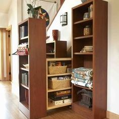 Storage Under Stairs Design, Pictures, Remodel, Decor and Ideas