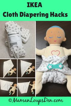 Ikea Cloth Diapering Hacks: Use items found at Ikea to save even more money cloth diapering! My favourite item? (Himmelsk Burp Cloths) Here's how to fold a burp cloth using the Kite Fold. Burp Cloth Diapers, Prefold Diapers, Reusable Diapers, Burp Cloths, Diapering, Couches, Lactation Cookies, Lactation Recipes, Ikea I