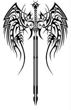 Ideas Tattoo For Guys Celtic Crosses - Tattoo Designs Men Celtic Tribal, Celtic Cross Tattoos, Viking Tattoos, Celtic Crosses, Celtic Sword Tattoo, Body Art Tattoos, Tattoo Drawings, Sleeve Tattoos, Tatoos