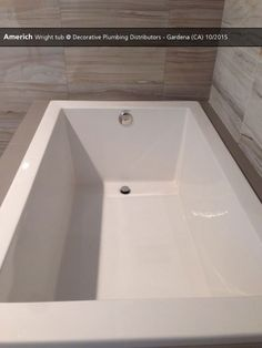 Americh Madison Tub Benjamin Supply AZ Showroom - Bathroom showroom tucson