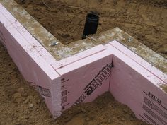 Free information on how to put frost-protected shallow foundations by The Pole Barn Guru. Where to put a frost-protected foundation around a pole building. Slab Foundation, Building Foundation, Foundation Repair, House Foundation, Metal Pole Barns, Pole Barn Homes, Concrete Footings, Concrete Pad, Pole Barn Plans