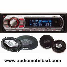 info audioserpong toko grosir audio mobil dan tv sony stereo sound