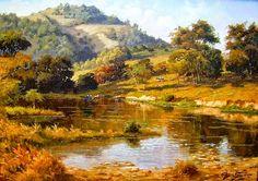 """..."""" cada pintura é uma viagem """"... >>> betomelodia - música e arte brasileira: Clóvis Pescio, Imaginação e Inspiração nas Artes"""