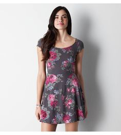 Floral AEO Printed Kate Dress