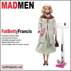 Photographer Modifies Barbie Dolls After 'Mad Men' Characters