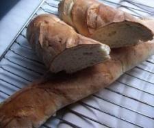 Rezept René s Baguettes mit Frischkäse von Regionalrekord Rene - Rezept der Kategorie Brot & Brötchen