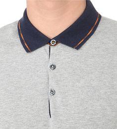 HUGO BOSS - Contrast-trim cotton-piqué polo shirt | Selfridges.com