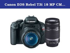 Canon EOS Rebel T3i 18 MP CMOS APS-C Sensor DIGIC 4 Image Processor Digital SLR Camera with EF-S 18-55mm f/3.5-5.6 IS Lens + Canon EF-S 55-250mm f/4.0-5.6 IS Telephoto Zoom Lens (OLD MODEL). KIT INCLUDES 2 PRODUCTS -- All BRAND NEW Items with all Manufacturer-supplied Accessories + Full USA Warranties: Canon EOS Rebel T3i Digital SLR Camera Body & EF-S 18-55mm IS II Lens + Canon EF-S 55-250mm IS Lens.