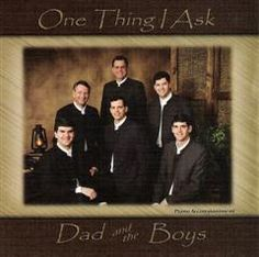 One Thing I Ask CD by Dad & The Boys - Melt the Heart