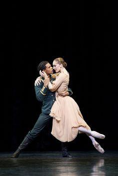 """Royal Ballet, Marianela Nuñez and Carlos Acosta in MacMillan's """"Winter Dreams"""" (Photo: Johan Persson)"""