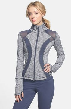 great fitted activewear company..Zella 'Halo - Sunburst' Jacket available at #Nordstrom