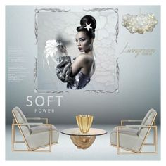 """""""Soft power"""" by zabead ❤ liked on Polyvore featuring interior, interiors, interior design, home, home decor, interior decorating and Lalique"""