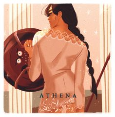 ATHENA the goddess of wisdom and military victory