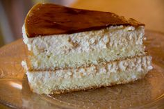 Tres Leches a Cinco de Mayo favorite. Got Milk Cake frosted with caramel topping.