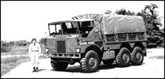 GMC XM434E1 amphibious truck of 1959