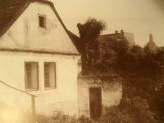 """Další z domků na zálabské """"Skále"""" R.1951"""