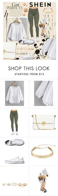 """""""Bez naslova #174"""" by sabina-mehic123 ❤ liked on Polyvore featuring Whiteley, Rika, Tory Burch, Converse, Rebecca Minkoff, LULUS, CC and Memo Paris"""