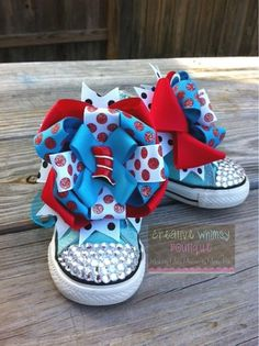 Items similar to Cat in the Hat Customized Bling Converse on Etsy Bling Baby Shoes, Cute Baby Shoes, Baby Bling, Bling Bling, Bling Converse, Sneakers Design, Shoe Designs, Kid Swag, Lalaloopsy