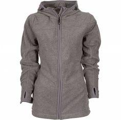 Life-Line Snow Dames Microfleece Jas Met Capuchon in de kleur Lichtgrijs Fleece Vest, Tweed, Hooded Jacket, Fall Winter, Athletic, Lady, Jackets, Collection, Fashion