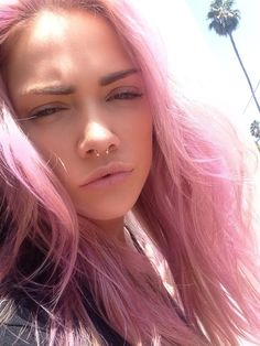 Ugh this is perf. I want pink ombré and a septum.