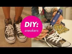 #DIY Converse Sneakers for Back-to-School