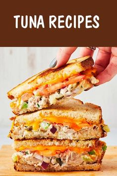 Best-Ever Tuna Melt Dinner Recipes tuna recipes Healthy Recipes, Lunch Recipes, Easy Dinner Recipes, Cooking Recipes, Yummy Recipes, Healthy Food, The Best Tuna Recipe, Tuna Melt Recipe, Canned Tuna Recipes