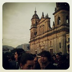 """Just submitted my entry to @SocialMediaWeek's #InstagramYourCity for Bogotá"" by @sebastiango"